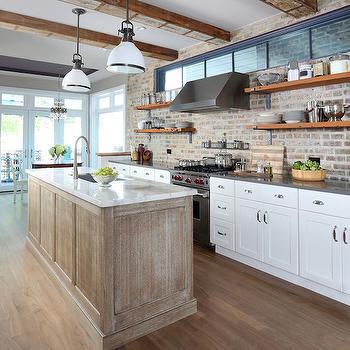 Bianco Pirgoni Marble, Transitional, kitchen, Normandy Remodeling