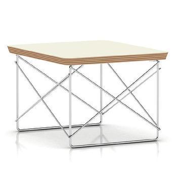 Herman Miller Eames Wire-Base Table I AllModern