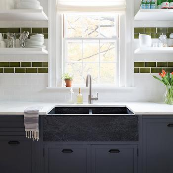 Soapstone Apron Sink, Eclectic, kitchen, Chango & Co.