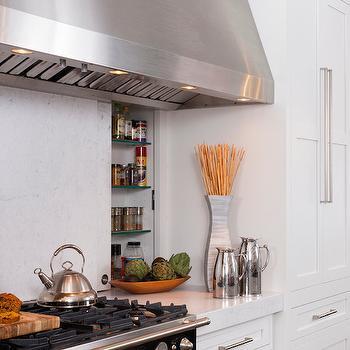 Hidden Spice Rack Ideas, kitchen, Breeze Giannasio