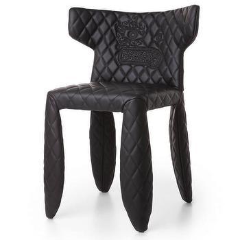 Moooi Monster Leather Side Chair I AllModern
