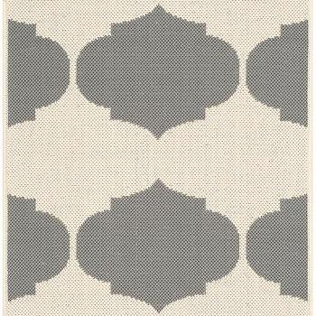Safavieh Courtyard Beige / Anthracite Contemporary Rug I AllModern