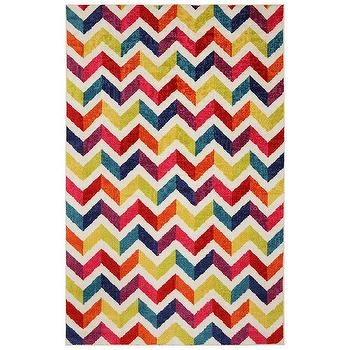 Mohawk Home Strata Multi Mixed Chevrons Pricm Area Rug I AllModern