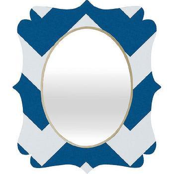 DENY Designs Holli Zollinger Chevron Baroque Wall Mirror I AllModern
