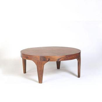 Aiden Wood Coffee Table I West Elm
