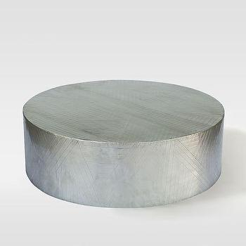Etched Metal Coffee Table I West Elm