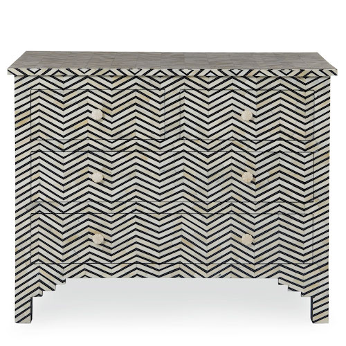 Bernhardt Chevron Chest Look for Less