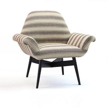 Orly Dhurrie-Upholstered Chair I West Elm