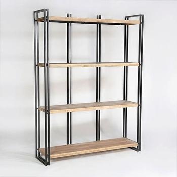 Double Frame Bookshelf I West Elm