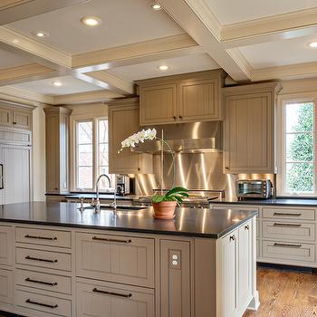 Taupe Kitchens, Transitional, kitchen, The Wills Company