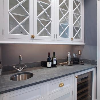 Concrete Countertops, Transitional, Kitchen, Blue Water Home Builders