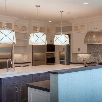 Kitchen with 2 Refrigerators, Transitional, Kitchen, Blue Water Home Builders