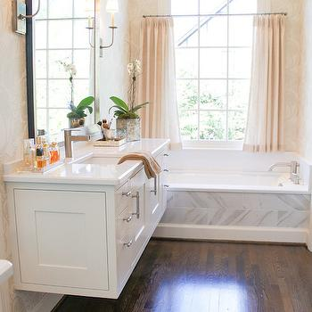 Floating Bath Vanity, Transitional, bathroom, The Wills Company