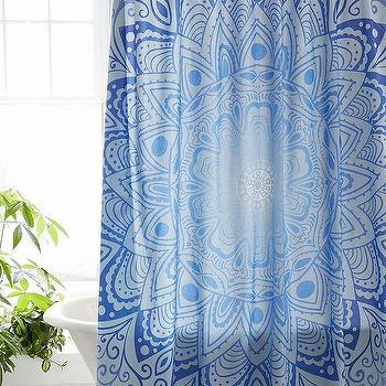 Magical Thinking Cosmic Medallion Shower Curtain I Urban Outfitters