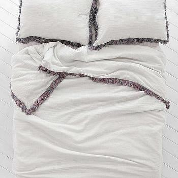Magical Thinking Bala Yarn-Dyed Duvet Cover I Urban Outfitters