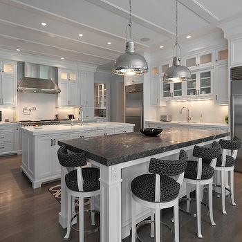 Kitchen with 2 Islands, Transitional, Kitchen, Blue Water Home Builders