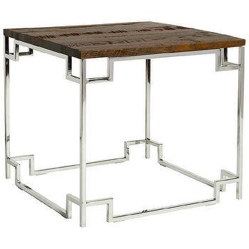Belle Meade Taylor Side Table I Zinc Door