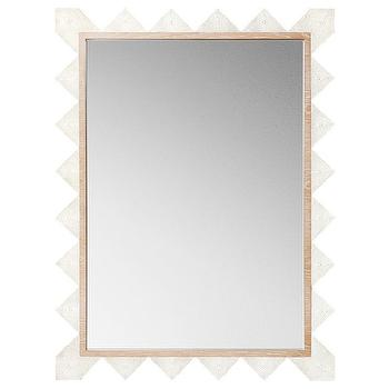 Emporium Home Chancey Cream Mirror I Zinc Door
