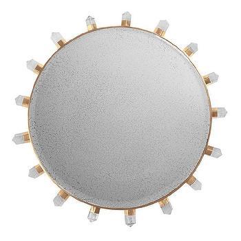 Emporium Home Lola Quartz Mirror I Zinc Door