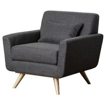 Abbyson Living Kendall Tufted Armchair, Gray I Target