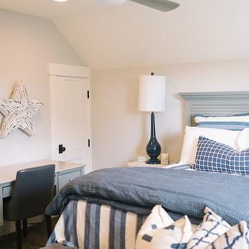 Blue and Gray Teens Room, Transitional, boy's room, 4 Chairs Furniture