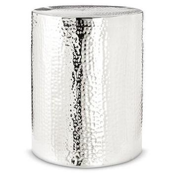 Threshold Silver Drum Accent Table I Target