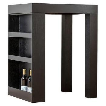 Abbyson Living Brighton Wood Sofa Side Table, Espresso I Target