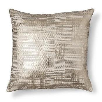 Threshold Gold Foil Throw Pillow I Target