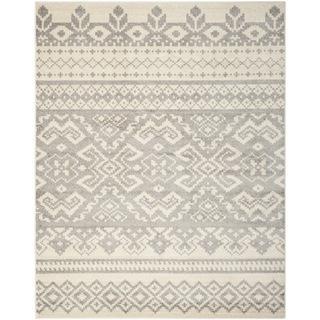 Safavieh Adirondack Ivory/ Silver Rug (8' x 10'), Overstock.com
