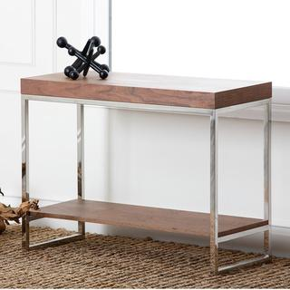 Abbyson Living Verona Walnut Console Table, Overstock.com