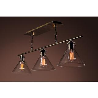 Warehouse of Tiffany Amerie 3-light Black Island Light, Overstock.com