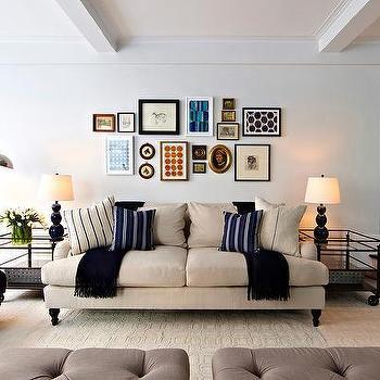 English Roll Arm Sofa, Transitional, living room, Chango & Co.