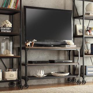 INSPIRE Q Nelson Industrial Modern Rustic Console Sofa Table TV Stand, Overstock.com