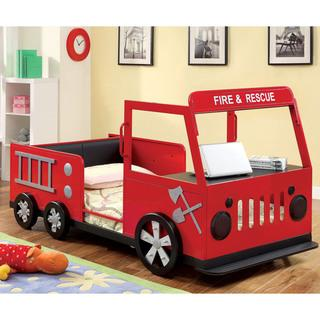 Furniture of America Rescue Team Fire Truck Metal Youth Bed, Overstock.com