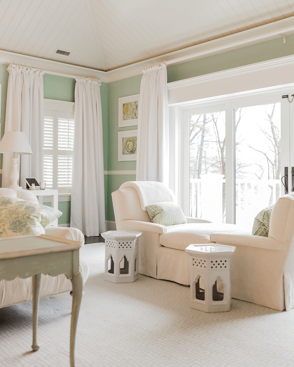 mint green bedrooms cottage bedroom brookes and hill custom