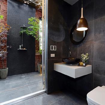 Outdoor Bathroom Ideas, Modern, bathroom, The Block Glasshouse