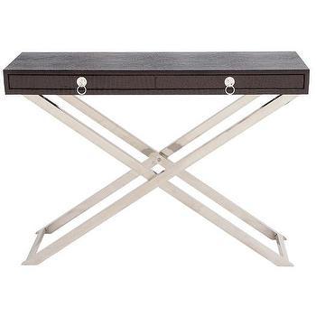 Woodland Imports Sleek Console Table I AllModern