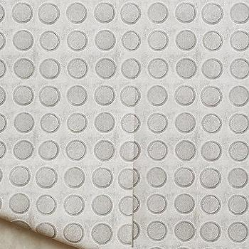 Concrete Circles Wallpaper I Anthropologie