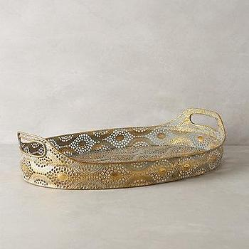 Lingering Plumes Tray I Anthropologie