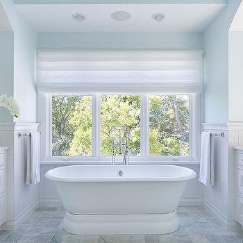 Master Bathroom Tub, Transitional, Bathroom, Lewis and Weldon