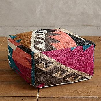 Chambal Pouf I Anthropologie