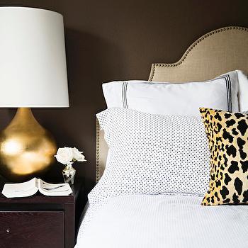 Brown Bedroom Ideas, Transitional, Bedroom, Behr Aging Barrel, Paloma Contreras