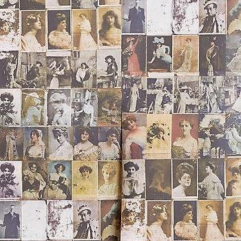 Kept Postcards Wallpaper I Anthropologie