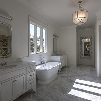 Bathroom Lantern Ideas, Transitional, Bathroom, CR  Home Design