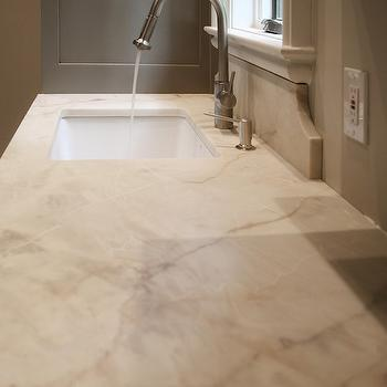 Aria Marble Countertops, Transitional, Kitchen, CR  Home Design