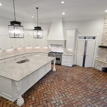 Giallo Ornamental Granite, Transitional, Kitchen, CR  Home Design