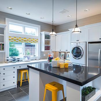 Laundry Room with Island, Laundry Room, TTM Development