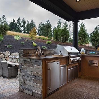 Outdoor Kitchen Ideas, Country, Deck/patio, TTM Development