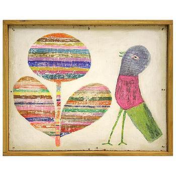 Sugarboo Designs Little Print Flower And Bird I Layla Grayce
