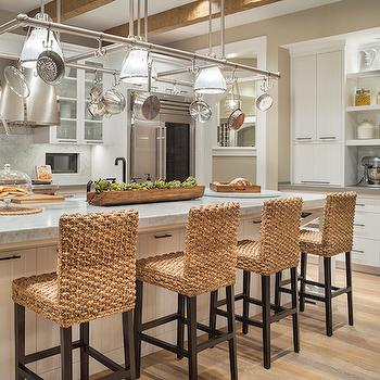 Seagrass Barstools, Transitional, Kitchen, Benjamin Moore Maritime White, TTM Development